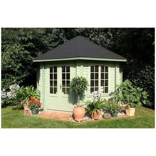 Palmako Gartenpavillon Hanna 14,1 m² , ohne Imprägnierung , ohne