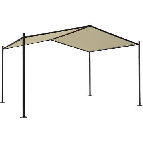 HHG Pergola HHG-367, Garten Pavillon Terrassenüberdachung, stabiles 6cm