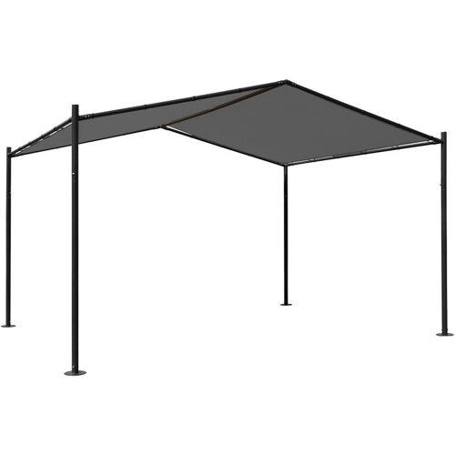 HHG Pergola 367, Garten Pavillon Terrassenüberdachung, stabiles 6cm