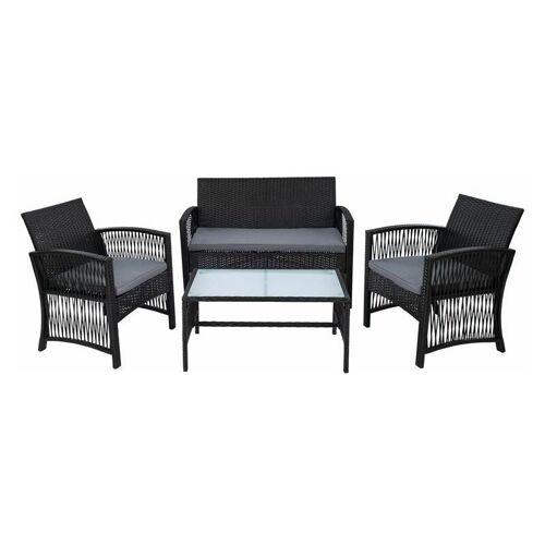 ESTEXO Polyrattan Gartenmöbel Set Rattan Sitzgruppe Rattanmöbel Garten Lounge