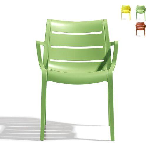 SCAB DESIGN Scab Sunset modernes Design Küchen Garten Bar Stuhl mit Armlehnen
