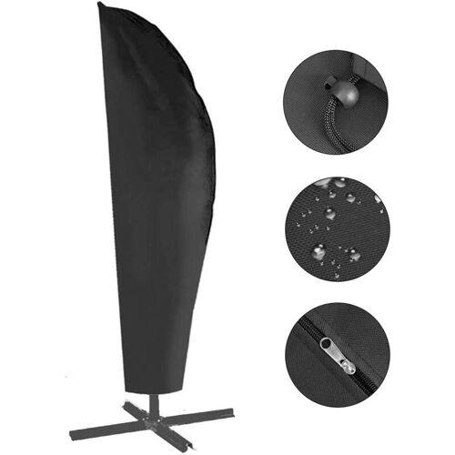 BEARSU Schutzhülle für Ampelschirm - 420D Sonnenschirmhülle Abdeckhauben für