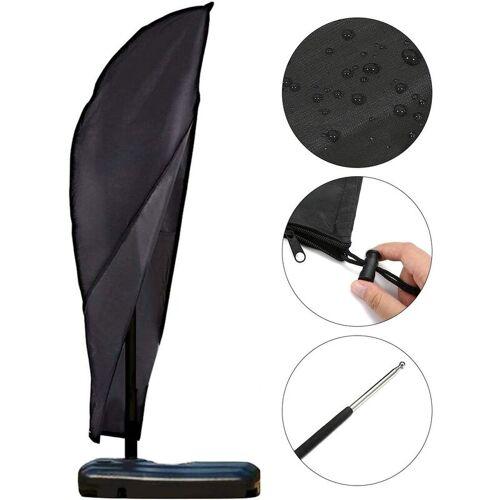 BEARSU Sonnenschirm Abdeckung Schutzhülle für Sonnenschirm 2 bis 4 M Große