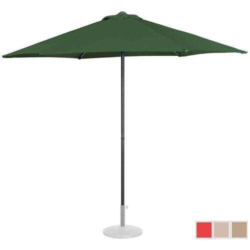 UNIPRODO Sonnenschirm groß Sonnenschirm Terrasse Gartenschirm grün sechseckig Ř