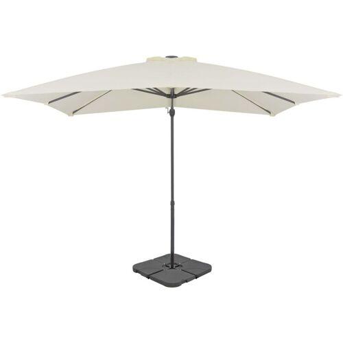 Vidaxl - Sonnenschirm mit Schirmständer Sand