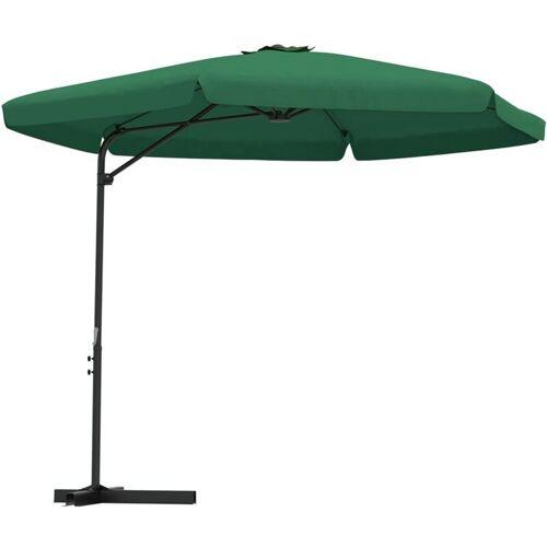 VIDAXL Sonnenschirm mit Stahl-Mast 300cm Grün