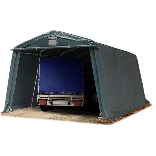 Profizelt24 - Zeltgarage 3,3 x 4,8 m Weidezelt PREMIUM Carport 500 g/m2