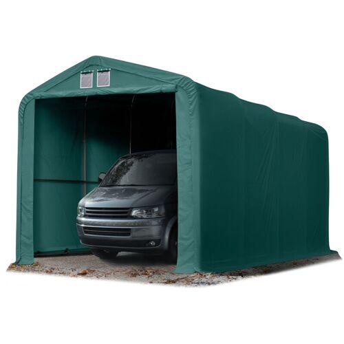 Profizelt24 - Wikinger Zeltgarage 4x8 m Lagerzelt Carport Torgröße