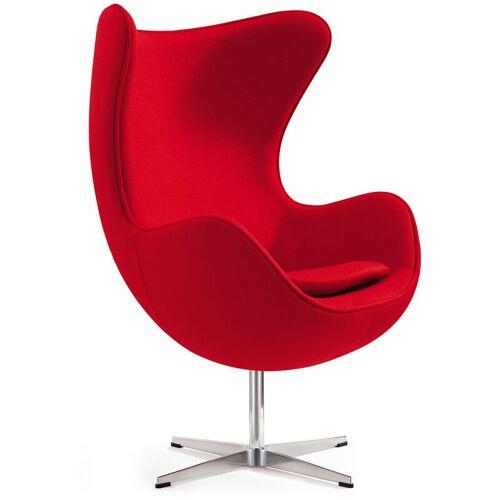 Ivol - Das Ei – Egg Chair – Designklassiker mit einzigartiger Form - Rot