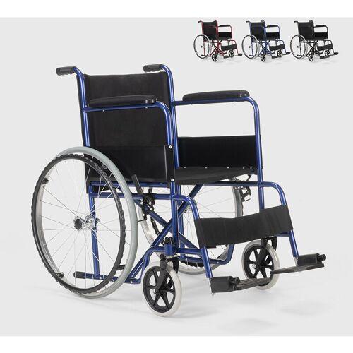 FISIOMED Rollstuhl Klappbarer Orthopädischer Oxford Stoff Behinderte und Ältere
