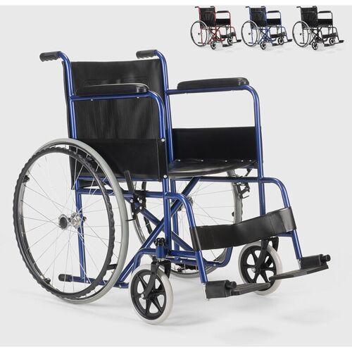 Fisiomed - Rollstuhl Kunstleder Klapp Orthopädischer Rollstuhl