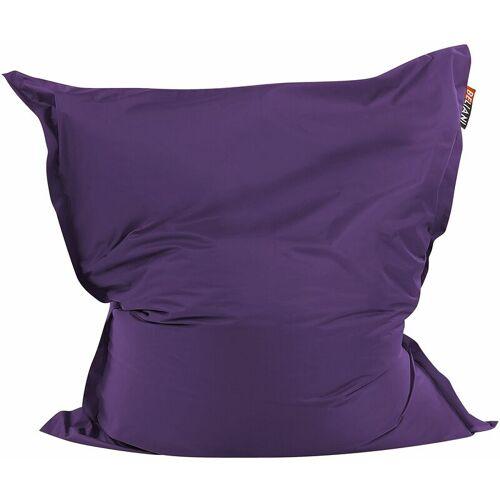 Beliani - Sitzsack Violett 140 x 180 cm Indoor Outdoor Stark