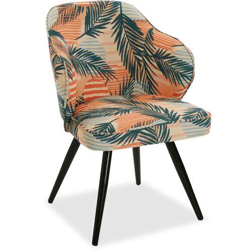 VERSA Saona Bequemer gepolsterter und gepolsterter Stuhl, 80x59x58cm - Versa