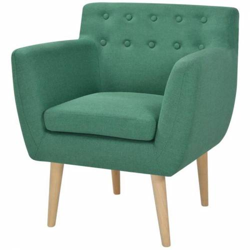 Vidaxl - Sessel Stoff Grün