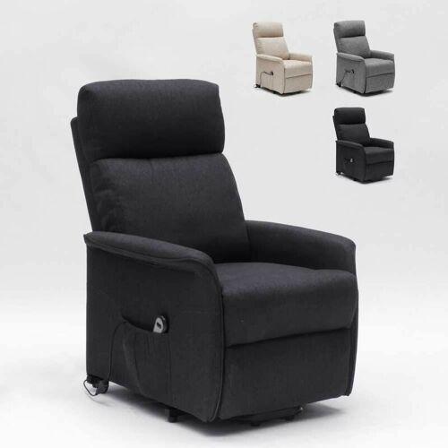Le Roi Du Relax - Elektrisches Relaxsessel mit Hinterrädern und