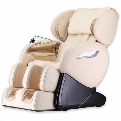 Home Deluxe - Massagesessel Sueno V2 - beige   Massagestuhl,