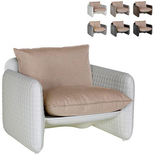 SLIDE Lounge-Sessel mit Modernem Design Slide Mara   Farbe: Weiß