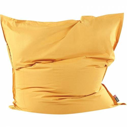 BELIANI Sitzsack Gelb 180 x 230 cm Indoor Outdoor Stark wasserabweisender