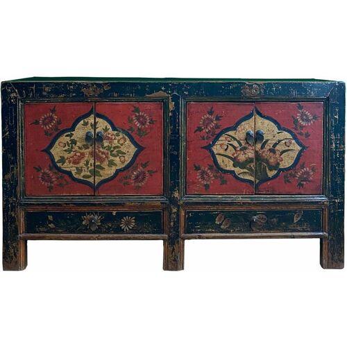 Asienlifestyle - Asia Kommode Möbel - chinesisches Sideboard - mit