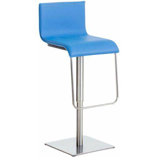 CLP Edelstahl Barhocker Limon-blau