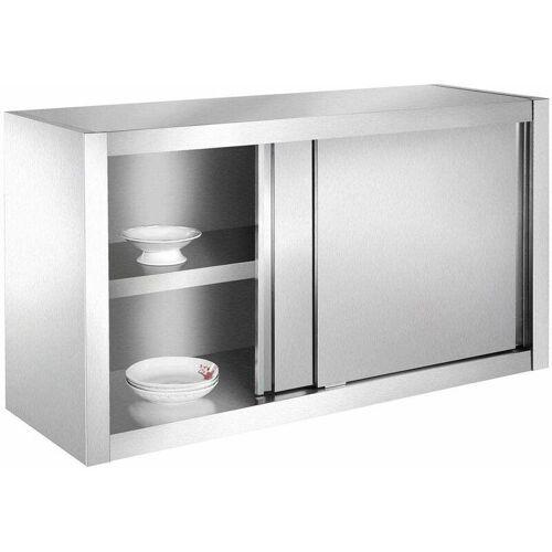 Bc-elec - SSC120 Küchenschrank, Hängeschrank aus Edelstahl 120x40x65cm