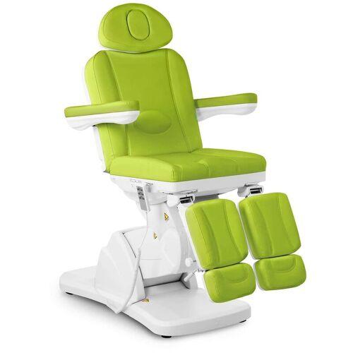 PHYSA Fußpflegestuhl elektrisch Kosmetikstuhl grün Kosmetikliege