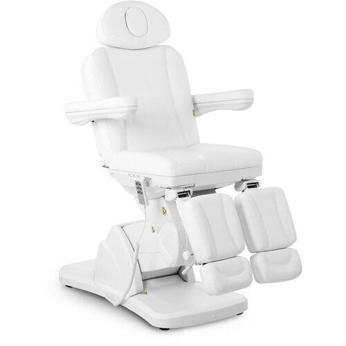 PHYSA Fußpflegestuhl elektrisch Kosmetikstuhl weiß Kosmetikliege