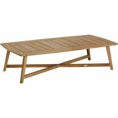 Best Couch-Tisch 'Paterna' aus Teakholz, ca. 140x70x35 cm