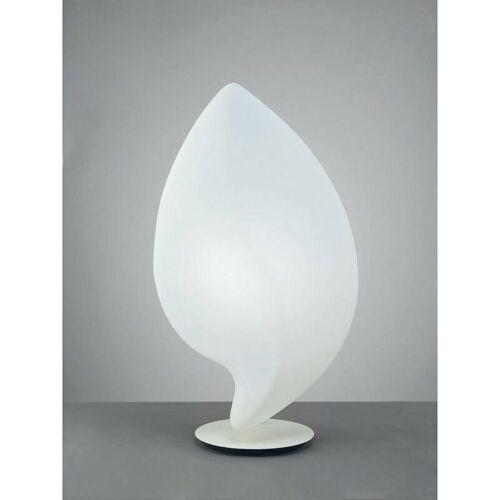 09-diyas - Natura Tischlampe 2 Lampen E27 Large Outdoor IP44, mattweiß