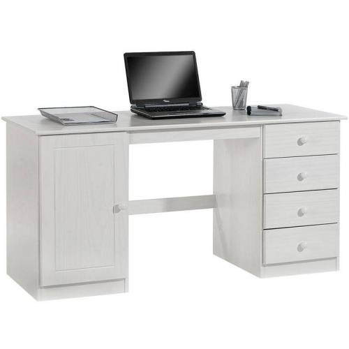 Idimex - Schreibtisch MANAGER in wei