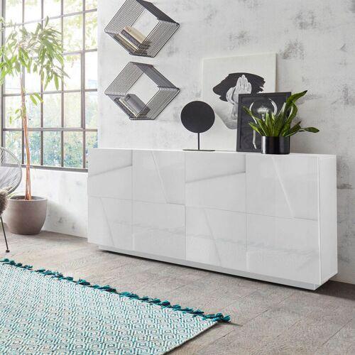 Ahd Amazing Home Design - Sideboard Wohnzimmer 4 Türen 2 Fächer mit