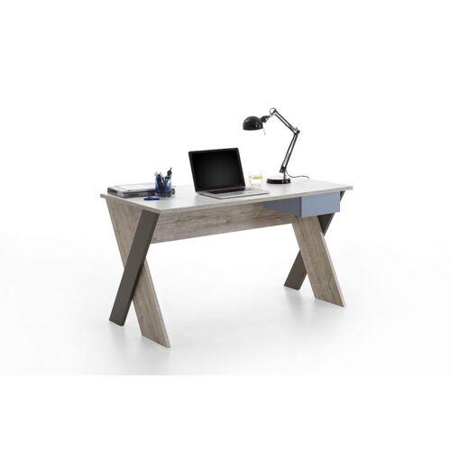 Fmd Mobel - 814-006 Nona 6 Sandeiche Nb. / bunt Schreibtisch