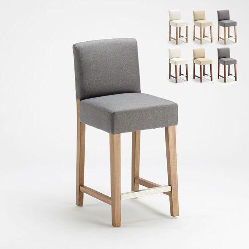 AHD AMAZING HOME DESIGN Henriksdal Stil Holzbar und Küchenhocker aus 63cm Höhe Comfort L
