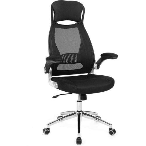 Songmics - Bürostuhl, Drehstuhl, Chefsessel, Bürodrehstuhl mit