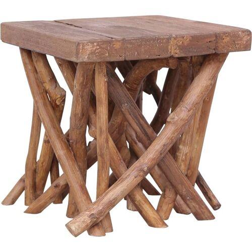 Vidaxl - Couchtisch aus Baumstämmen 40x40x40 cm Massivholz