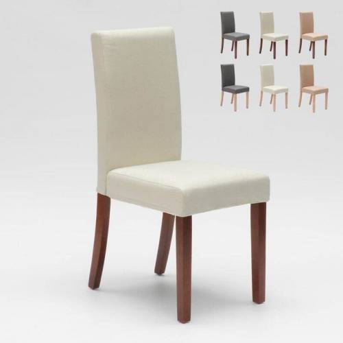 AHD AMAZING HOME DESIGN Esszimmerstuhl Esstischstuhl Gepolstert Henriksdal Design Comfort   Weiß