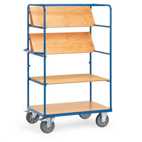 FETRA Etagenwagen mit faltbaren Etagenböden 4 Etagen 1000x700 - Fetra