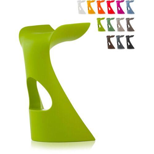 SLIDE Moderner Designhocker für Bars und Clubs Slide Koncord   Grün