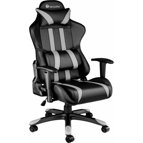 TECTAKE Premium Racing Bürostuhl mit Streifen - Computerstuhl,