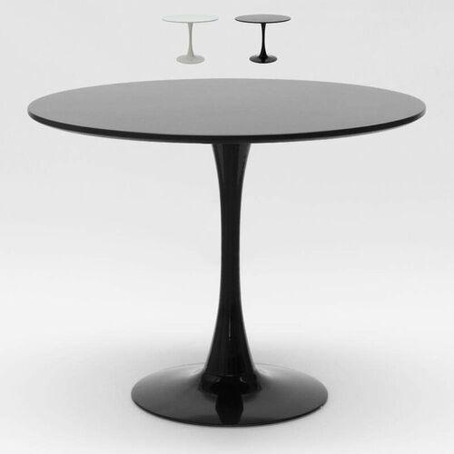 Ahd Amazing Home Design - Rund Tisch 80x80 cm Inneneinrichtung Kaffee