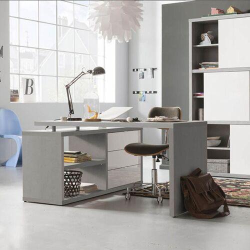 Office24 - Schreibtisch Arbeitstisch Bürotisch Winkelkombination mit