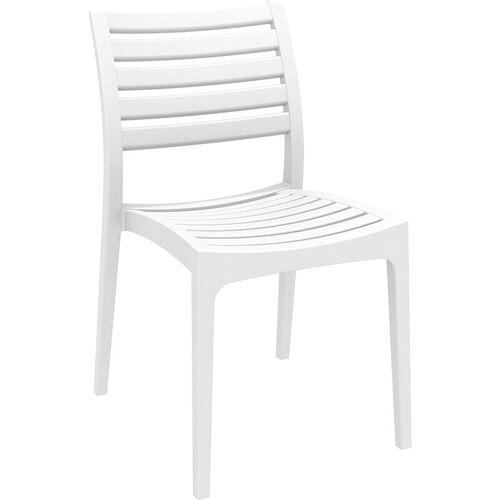 CLP - Stapelstuhl ARES-weiß