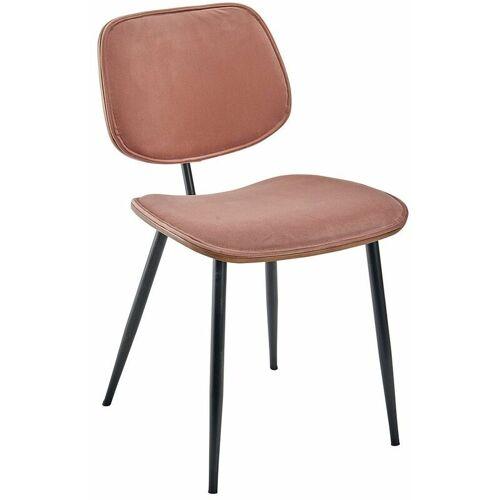 SIGNATURE 2 Stühle aus Samt - Olympia - Signature - Rose.