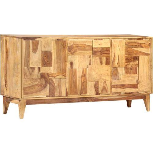 TOPDEAL Sideboard 145x40x76 cm Massivholz Palisander 48373 - Topdeal