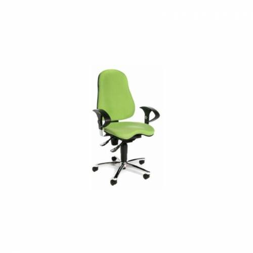 TOPSTAR Bürodrehstuhl SITNESS 10   Mit orthopädischer Sitzfläche   Apfelgrün