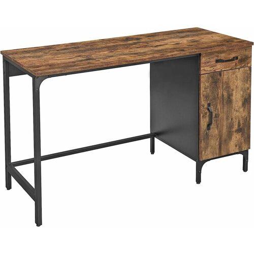 SONGMICS VASAGLE Schreibtisch, Computertisch, Bürotisch mit Schublade und