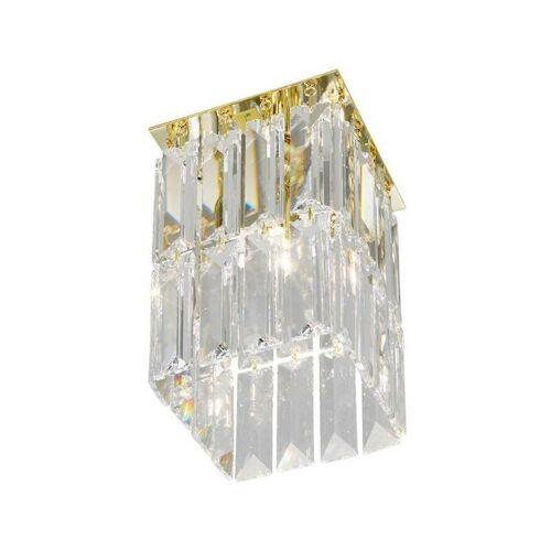 14-kolarz - Spot Design aus Kristall PRISMA 24 Karat Gold 1 Glühbirne,