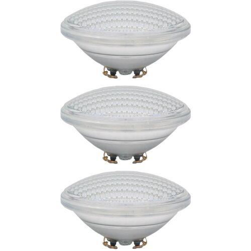 ETC-SHOP 3x LED Schwimm Becken Teich Glas Leuchtmittel Scheinwerfer PAR56
