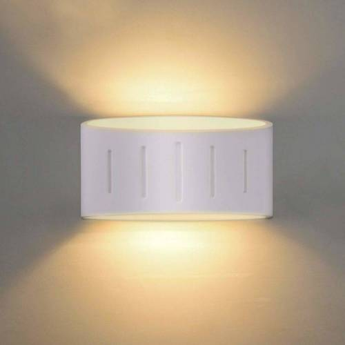 STOEX 3W LED Wandleuchte Innenputz Wandleuchten 3000K Warmweiß Moderne LED