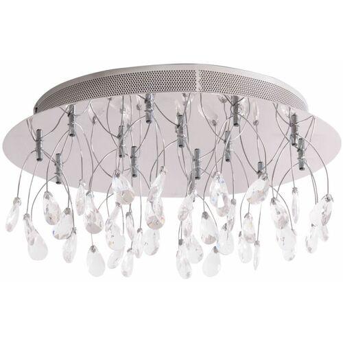 WOFI Desinger Glas Tropfen Leuchte Krstall Decken Lampe Wohnzimmer